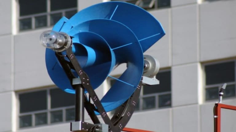 Silent rooftop wind turbines could generate half of a household's energy needs