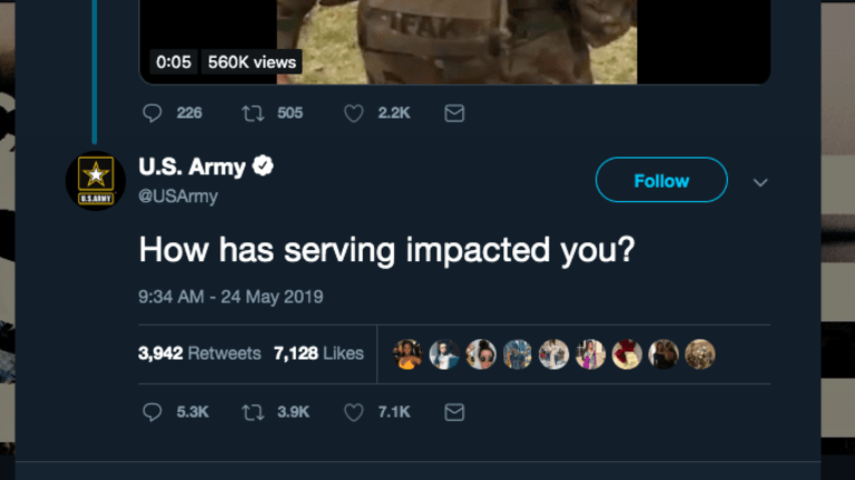 The US Army Asked Twitter How Service Has Impacted People. Gut-Wrenching Answers
